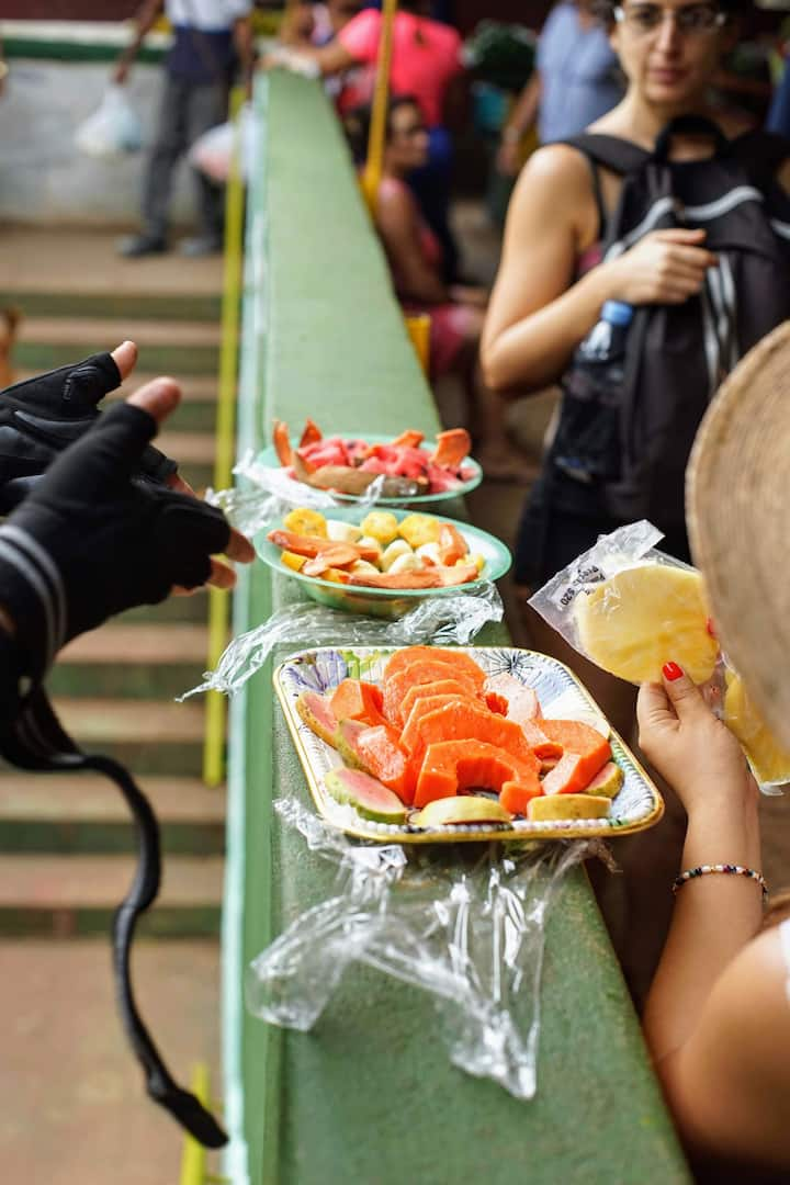Taste fresh fruits along the way