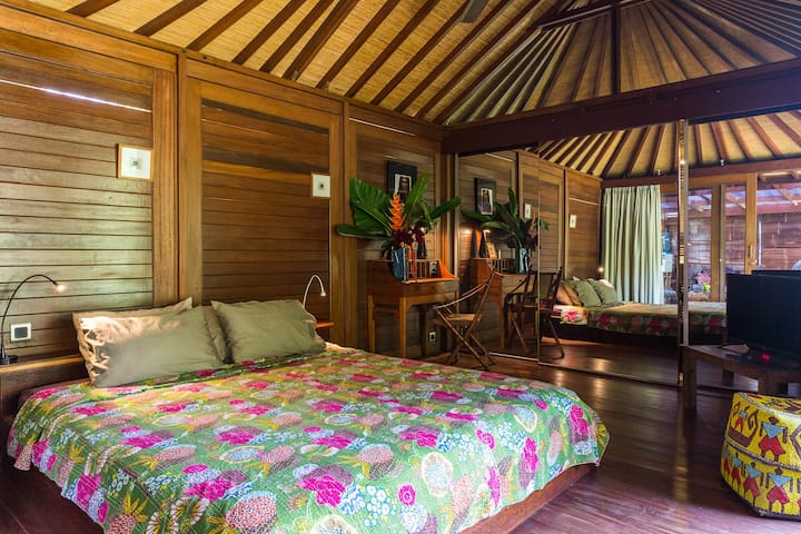 bungalow au coeur du vrai Bali - Tegallalang - Andre