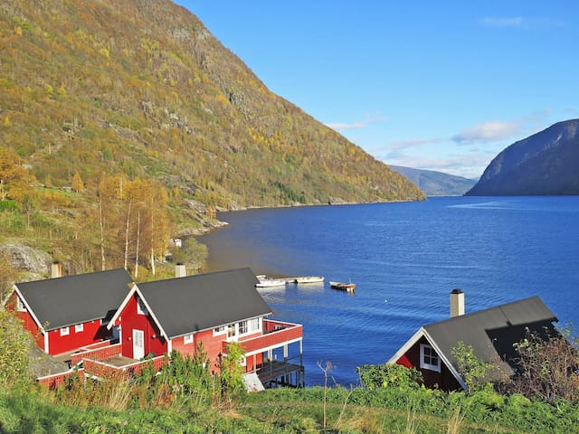 Holiday home in Vik i Sogn for 8 persons