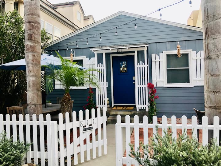 Azul -Colorful, Cali-Home Steps to Mission Beach