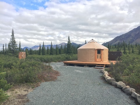 """Experience Alaska"" Yurt Rental #1 Open Year-Round"