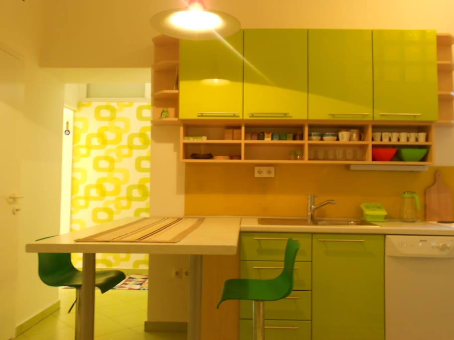 Small but practical kitchen