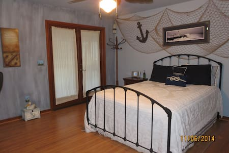 Nautical Room with Balcony - Lake Mary