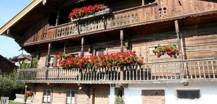 125m2 in 400 Jahre altem Bauerhaus