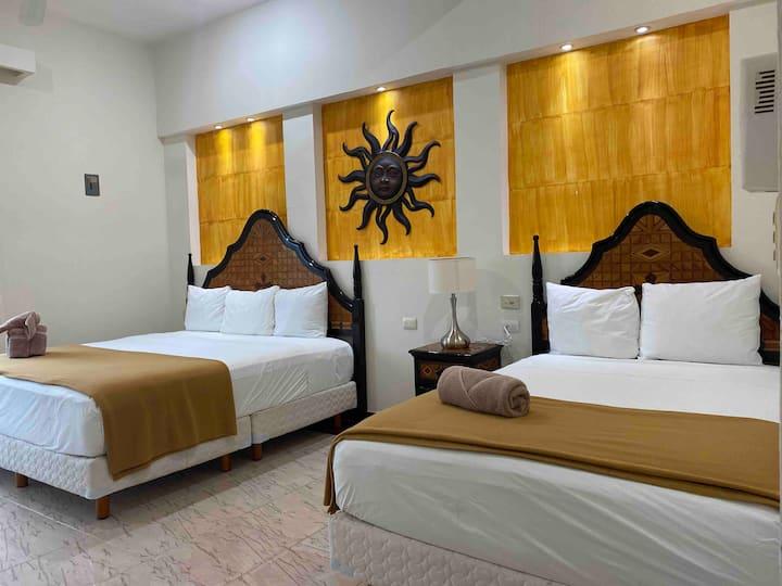 Habitación Master Suite/centro de Tulum/7 personas