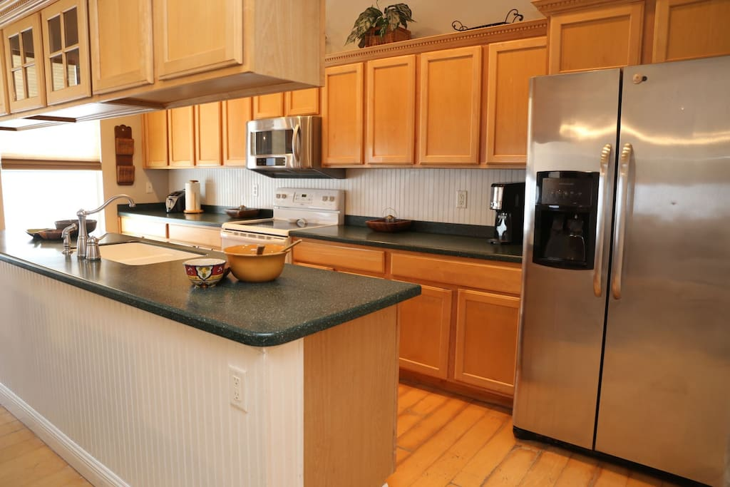 Love to cook This gourmet kitchen is ready for you.