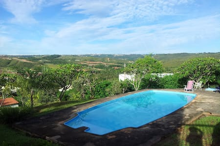 Casa em condomínio com bela vista   - Brasilia - Casa