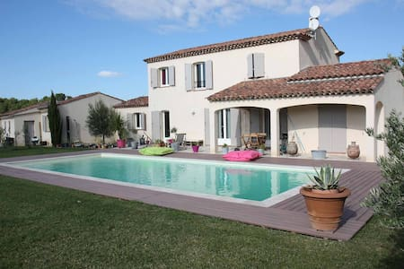 Chambre privée dans Mas Provençal 2 - Trets - Aamiaismajoitus