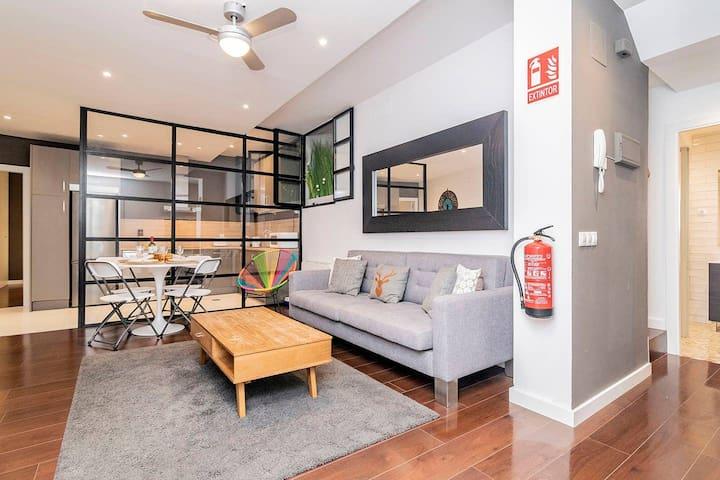 Habitación privada en apartamento recién reformado