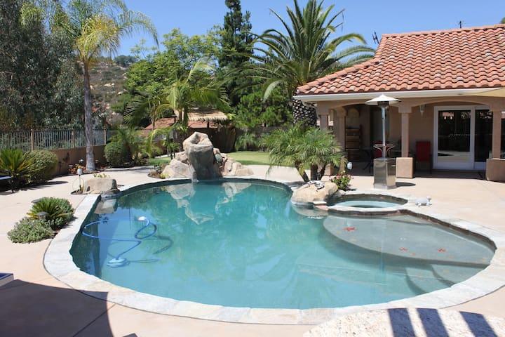 San Diego home with RESORT BACKYARD!!