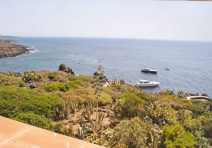 Attico panoramico fronte mare, con propria caletta - Località Punta Fram - Apartamento
