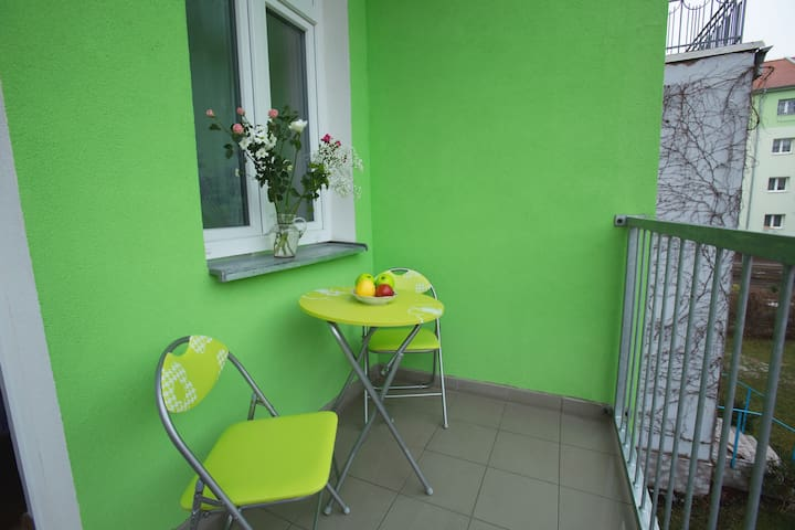 Comfortable room/ balcony/ Teplice, Czech Republic