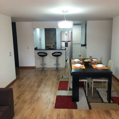 A Beautiful Flat in an amazing zone! - Bogotá - Apartamento