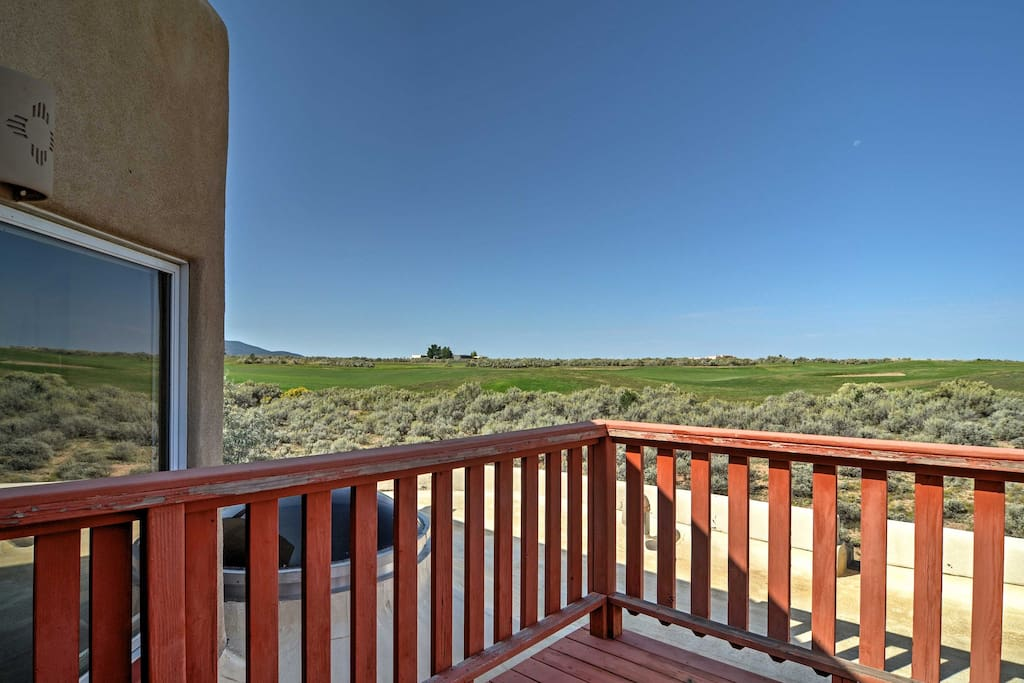 Enjoy incredible views of the golf course from your private deck!