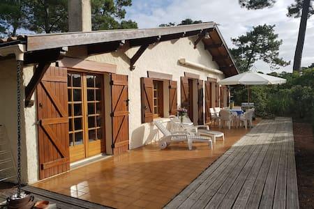 Villa au CANON  Presqu'île du CAP FERRET.