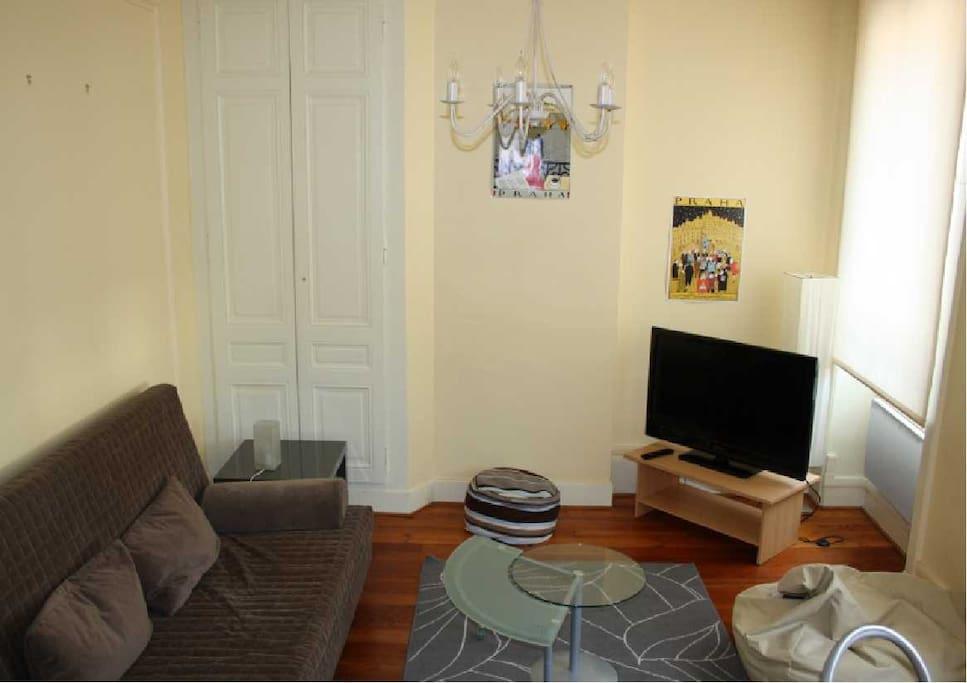 Meubl de charme banlieue de lyon appartements louer for Appartement a louer meuble lyon