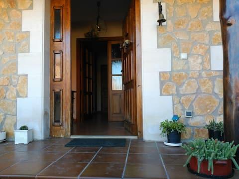 Casa con jardín a 10 km de Burgos