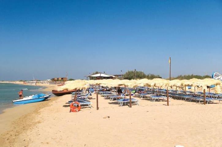 Spiaggia libera e atrezzata