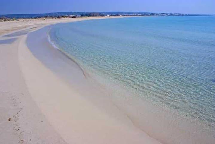 Spiaggia libera quasi 1 km