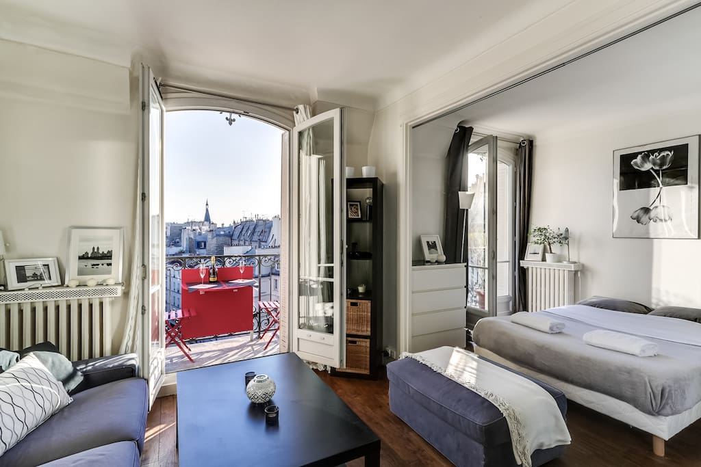 spacieux studio proche bastille appartements louer paris le de france france. Black Bedroom Furniture Sets. Home Design Ideas