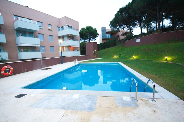 Bright apartment with a large terrace near the sea - Lloret de Mar - Wohnung