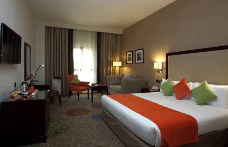 Mena hotel Riyadh (PHONE NUMBER HIDDEN) - Riyadh - Bed & Breakfast