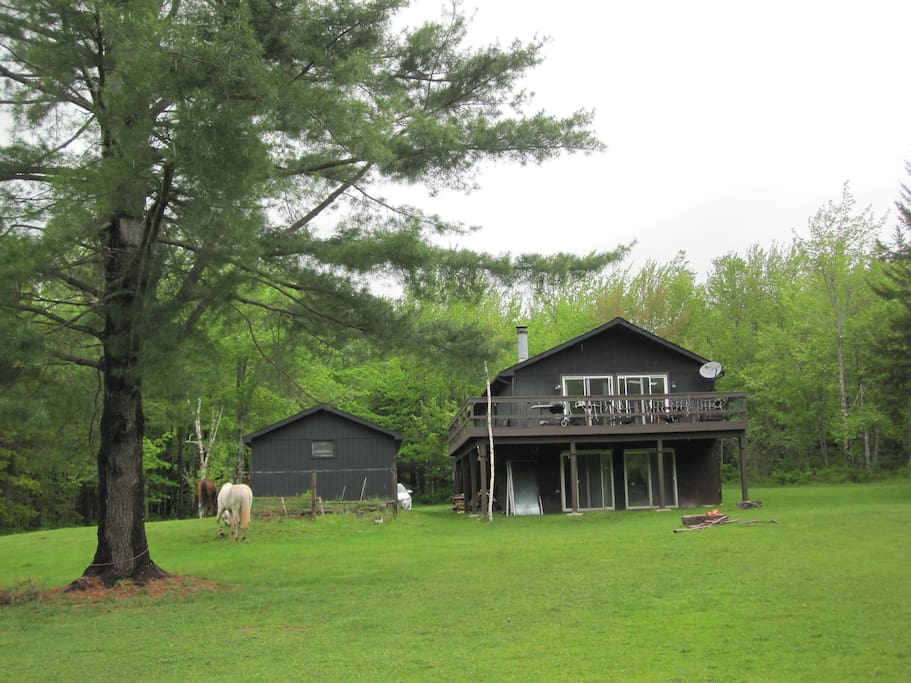 Ski house and summer retreat houses for rent in east jewett new york united states - Large summer houses energizing retreat ...