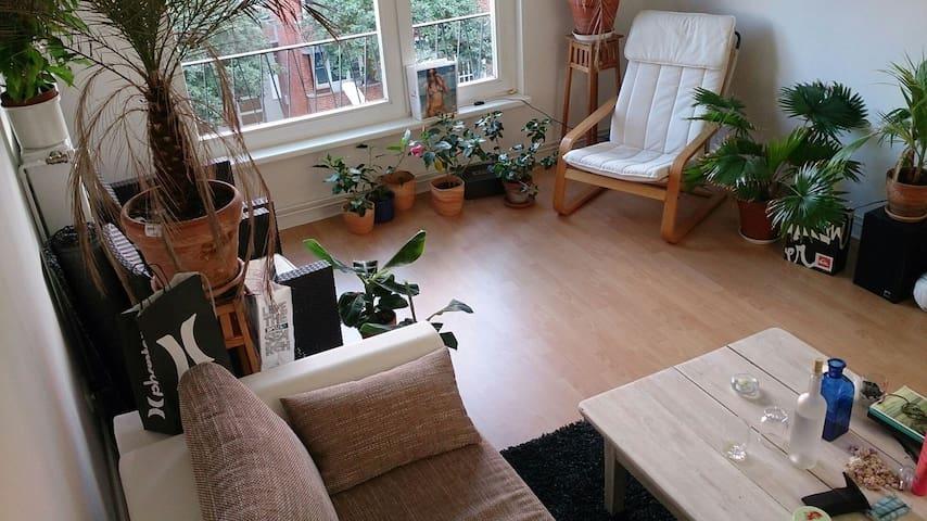 2 room aptm. in heart of Hamburg - Hamburg - Apartment