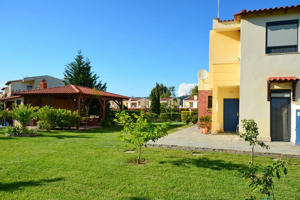 Kalandra villa in Halkidiki
