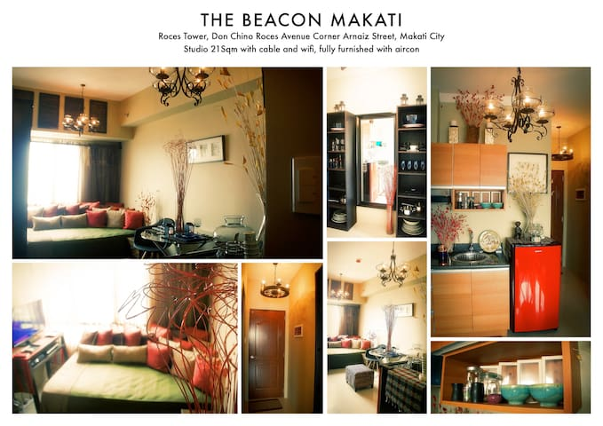 Cozy Studio + Wifi+Greenbelt+Makati - Makati City