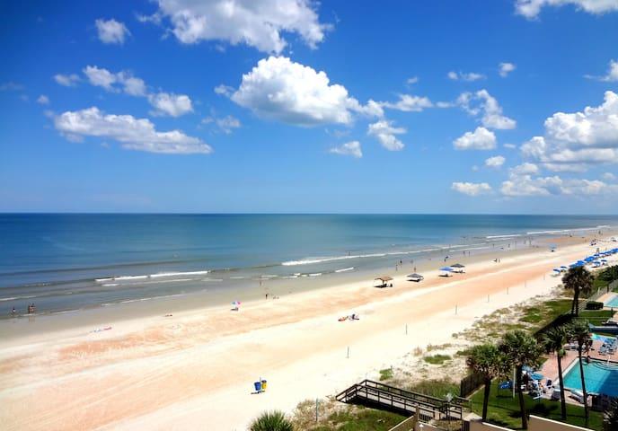 Oceanfront Penthouse 3 Bdr Paradise - Daytona Beach Shores - Huoneisto