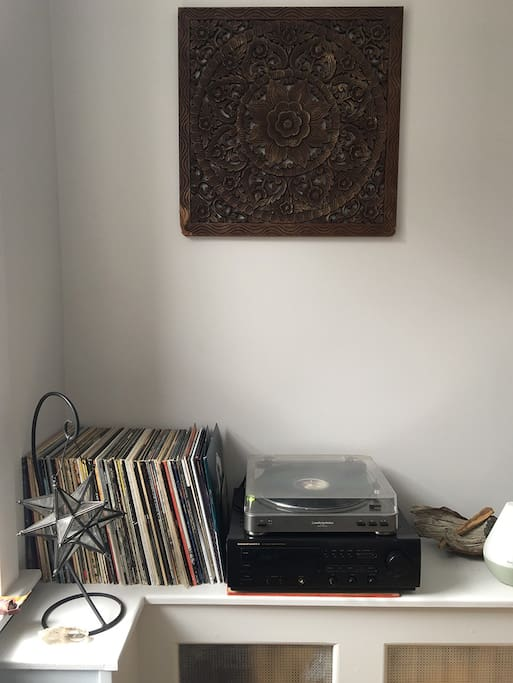 Extensive record collection, just be nice!