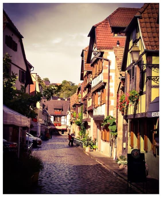 Rue des pèlerins