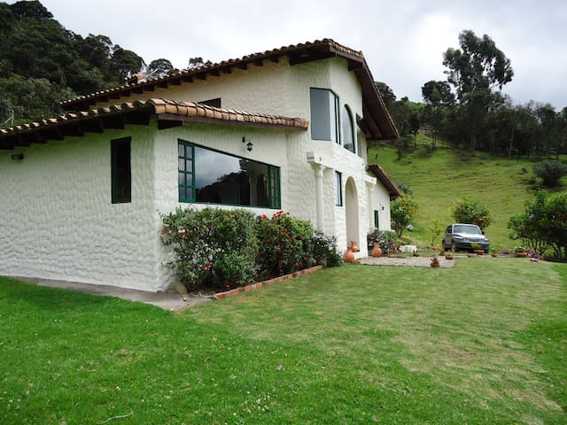 Beautiful country house near to Bogotá - Embalse Neusa - Dom