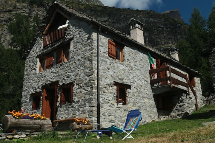 Appartamento Bella vista - Devero-ai Ponti - Apartment