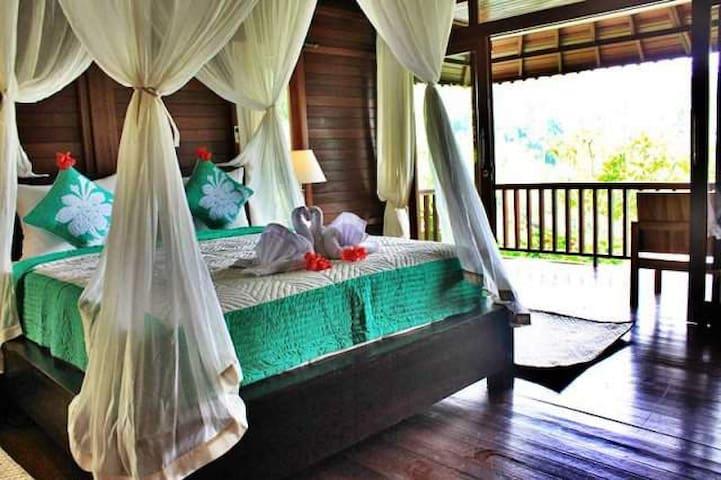 Villa wedang tea - Tegallalang - Bungalov