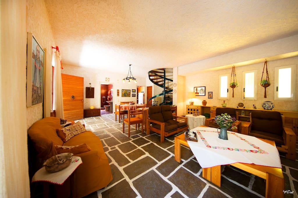 Stylish and comfortable living room