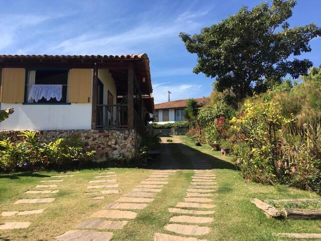 Pousada Casarão da Venda: Suite Pico do Horizonte