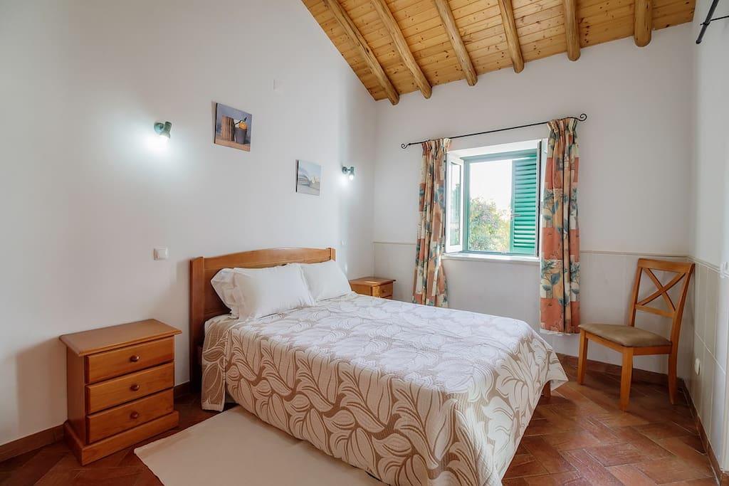 Bedroom with window.