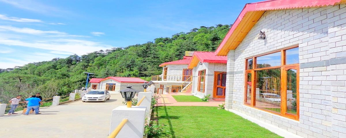 |Honeymoon Suite| In the valley of flowers. - Chail - Nature lodge