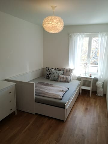 Bed can be extended to a double bed