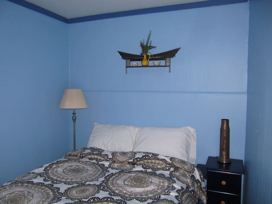 """Front Bedroom """"The Blue Room"""""""