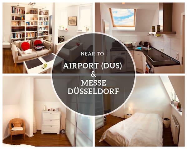 ⭐️NEW⭐️ up to 6 persons near ✈️ & Messe Düsseldorf