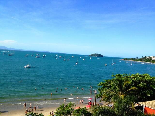 Apt Jurerê Pé na areia-Vista p/ mar - Florianópolis - Appartamento