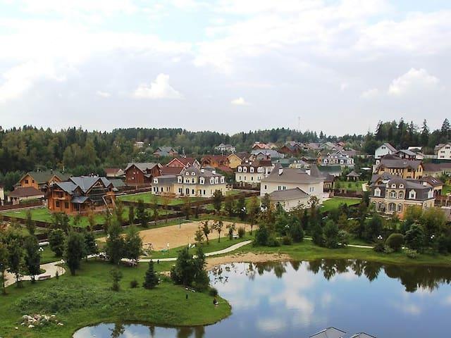 Стильный коттедж  в элитном поселке - Istrinsky District - Villa