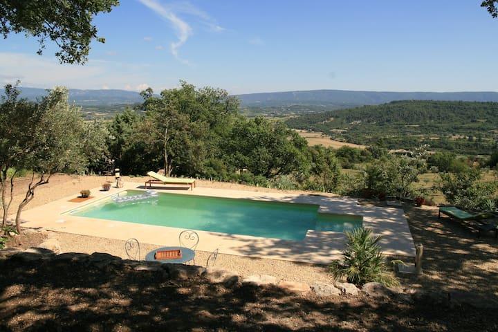 Le grand et le petit Luberon Au milieu Bonnieux et aussi Roussillon Oppede le vieux Menerbes Lacoste.....