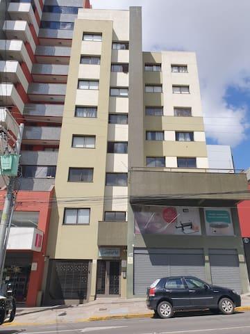 Apartamento mobiliado, 1 dormitório
