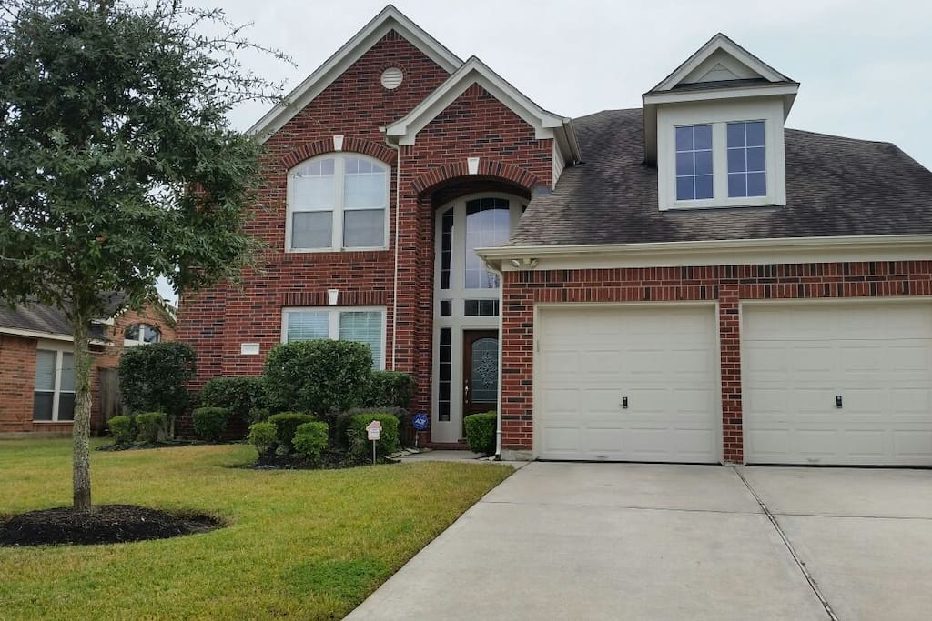 Beautiful two story home with plenty of parking space.