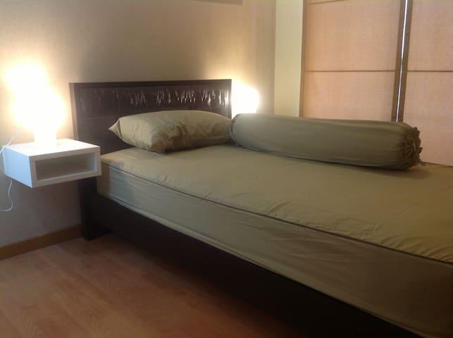 ห้องพักพร้อม 2 ห้องนอน 2 ห้องน้ำ