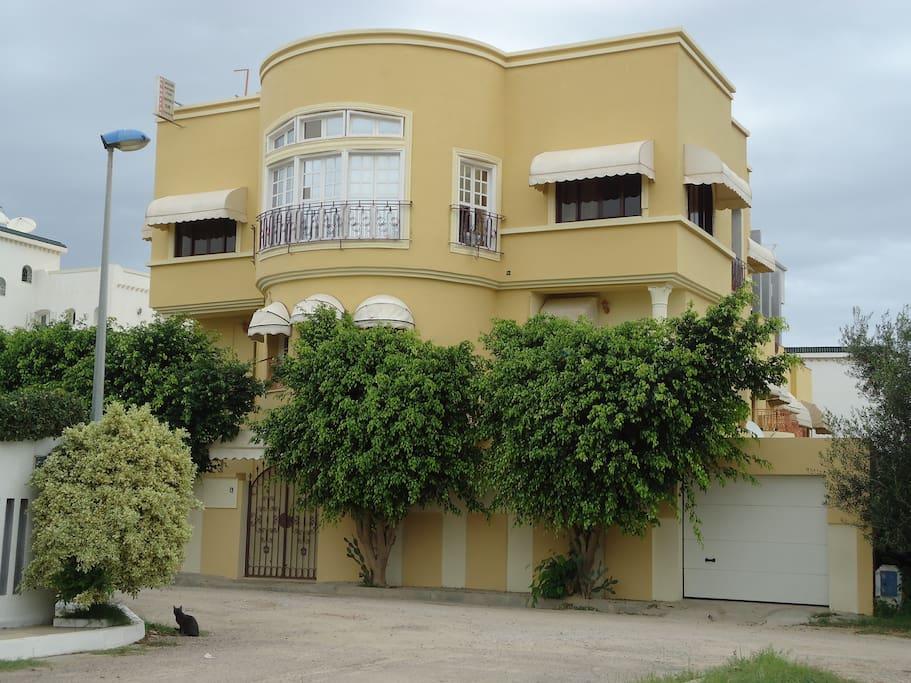 Studios et appart pr s de la mer apartments for rent in for City meuble sousse